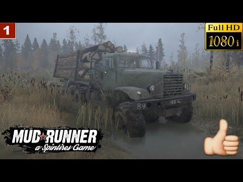Spintires: MudRunner Прохождение Одиночная игра Карта Болото
