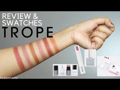 review trope cosmetis / lipstick lokal anti bibir kering