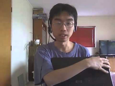 Lenovo Thinkpad W540 laptop unboxing