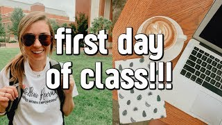 FIRST DAY OF COLLEGE VLOG | unc charlotte