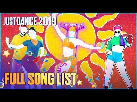 Just Dance 2019: Full Song List   Ubisoft [US]