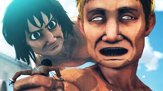 Attack On Titan Gameplay Escape From Titans Trailer PS4 PS3 & PS Vita  Shingeki No Kyojin 進撃の巨人