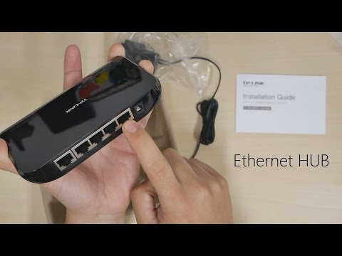 TP – LINK: Hardwired Ethernet Hub