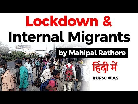 Impact of 21 Day Lockdown on Internal Migrants, PM Modi launches PM CARES Fund to stop mass exodus