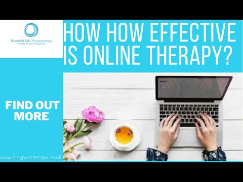 How How Effective Is Online Therapy?