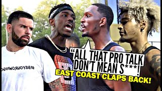 """""""You Wanna Get PHYSICAL!? You DON'T WANNA Do That!"""" East Coast Squad CLAPS BACK at The West!"""