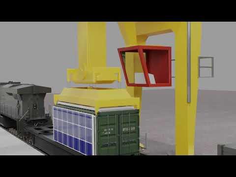 Solar Panel - 3D animation