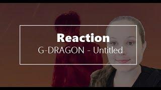 Gambar cover G-DRAGON - Untitled, 2014 M/V Reaction