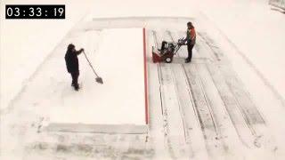 Зачем нужен бензиновый снегоуборщик видео