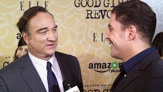 Jim Belushi At The Good Girls Revolt Premiere Behind The Velvet Rope With Arthur Kade