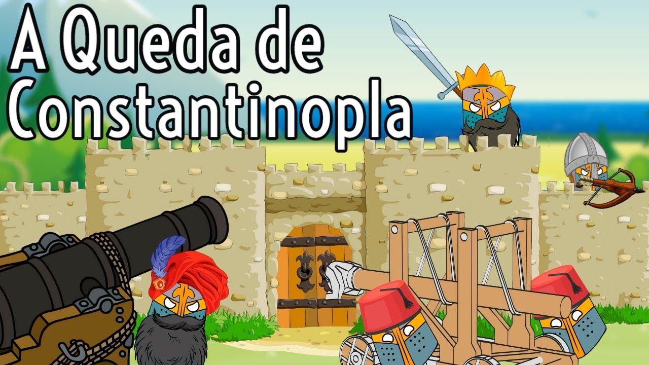 A Queda de Constantinopla foi um dos momentos mais...