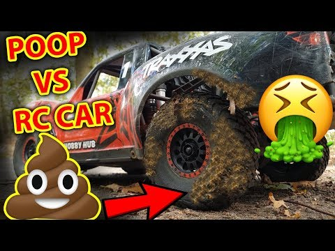 (VOMIT WARNING) Traxxas UDR Nails DOG POOP RC Car Fail