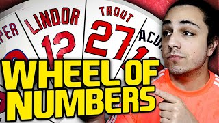 THE WHEEL OF JERSEY NUMBERS REBUILD | MLB the Show 20