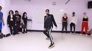 "Deshawn Da Prince ""Even"" by Chris Brown choreography"