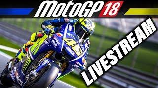 MotoGP 18 Livestream Deutsch - First Look + Karrierestart   MotoGP 2018 Gameplay German