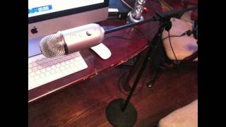 Blue Mic Yeti audio sample