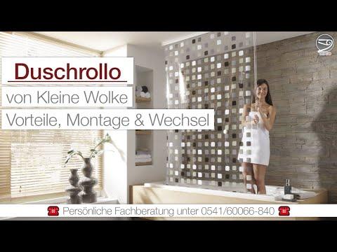 Kleine Wolke Duschrollo – Vorteile, Montage & Wechsel