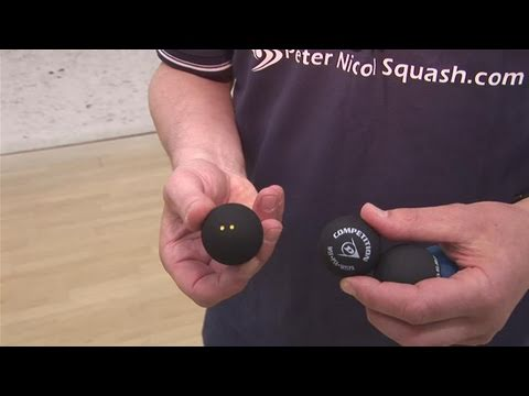 How To Select A Squash Ball