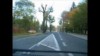 preview picture of video 'Trasa egzaminacyjna Rybnik PRAWO JAZDY - jednokierunkowe'