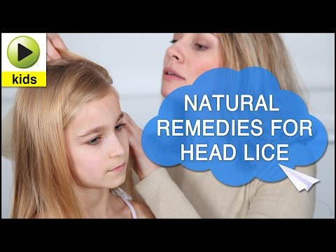 Video Kids Health: Head Lice - Natural Home Remedies for Head Lice