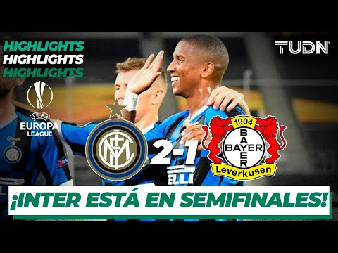 Highlights | Inter Milán 2-1 Leverkusen | Europa League 2020 – 4tos final | TUDN