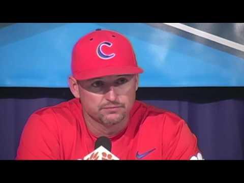 Lee thanks Clemson fans for support of baseball team