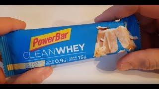 PowerBar Clean Whey Proteinriegel Vanille - Testvideo