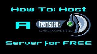 How To Get Free TeamSpeak Server Hosting Most Popular Videos - Eigenen minecraft server erstellen 1 8 kostenlos german