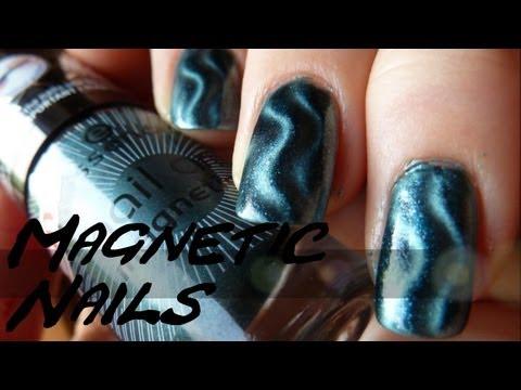 [Einfaches Nail Art #5] Magnetische Nagellacke - Wie geht´s richtig??