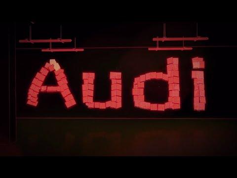 Скорость света: эволюция светотехники Audi видео