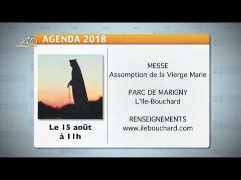 Agenda du 23 juillet 2018