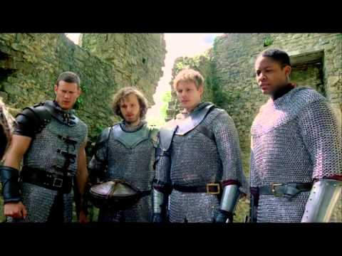 Merlin season 5 Bloopers