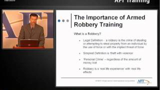 AFIMAC Armed Robbery Response Essential Employee Training Refresher