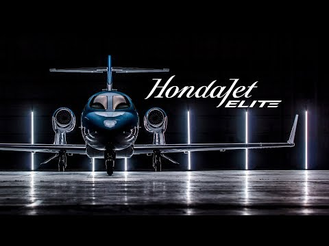 Introducing HondaJet Elite