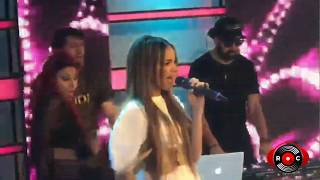 Leslie Grace Ft Farina   Lunes A Jueves (Mega TV, Chile) [RumbaComercial.Com]
