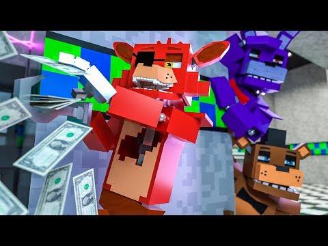 Minecraft FNAF 7 Pizzeria Simulator - WHERE'S FOXY?! (Minecraft Roleplay)