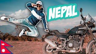 MY FIRST INTERNATIONAL BIKE RIDE   NEPAL