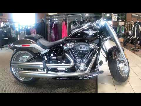 2020 Harley-Davidson Softail Fat Boy 114 FLFBS