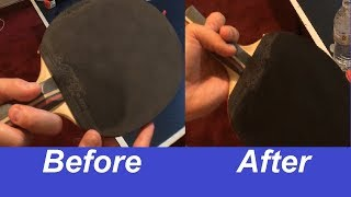 How To Clean Table Tennis Paddle
