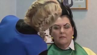 Розыгрыш в парикмахерской 😀 💇   Горы Смеха Видео 352935401742553