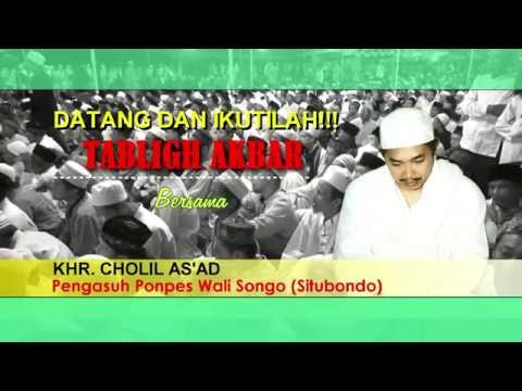 Video VIDEO UNDANGAN TABLIGH AKBAR KHR  CHOLIL AS'AT