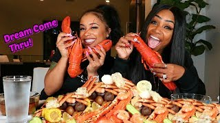Seafood Boil with Dream Doll from Love & Hip Hop New York