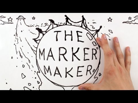Stop Motion | Whiteboard Animation: The Marker Maker