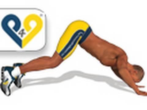 Les exercices sur les muscles du ventre avec la balle