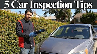 Top 5 Used Car Inspection Tips and Tricks