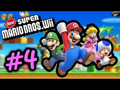 人生大道理 做人有時唔駛咁衝動既 #4 World 2.3 新超級瑪利歐兄弟 Super Mario Bro Wii Gameplay Walkthrough