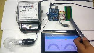 iot based electricity energy meter using esp 12 and arduino