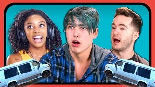 YouTubers React To Girl Who Lives In A Van - Van Life (Jennelle Eliana)