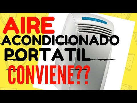 AIRE ACONDICIONADO PORTATIL CONVIENE O NO? NO CONVIENE PARA NADA !!!