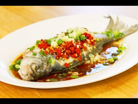 The Hottest Chilies Steamed Fish Recipe 剁椒蒸魚 CiCi LI
